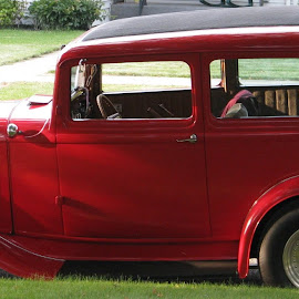 Ready to roll by Sandra Haroldson - Novices Only Objects & Still Life ( car, old, rod, red, sharp )