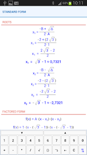 NaN Quadratic Function Pro - screenshot