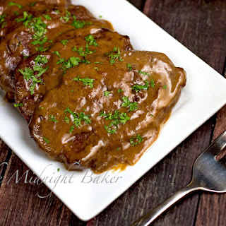 Slow Cooker Braised Steak