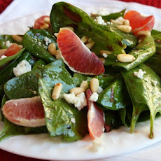 Blood Orange Spinach Salad