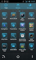 Screenshot of Weyland GO Launcher EX theme