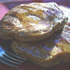 Fat Free Ginger Molasses Pancakes