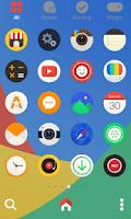 Screenshot of Color round dodol theme
