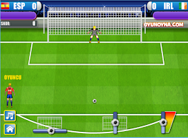 Screenshot of Futbol Penalti Krali