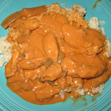 Chicken Cream Goulash