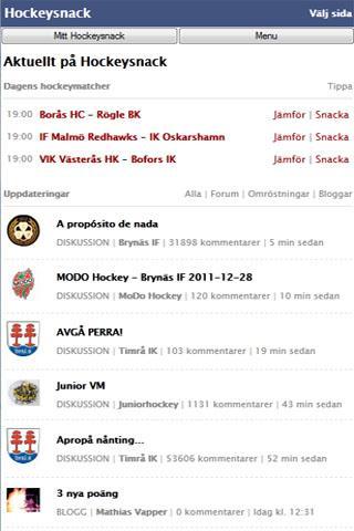HockeySnack Free