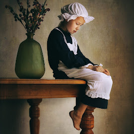 The Maid by Glynn Lavender - Babies & Children Child Portraits ( child, portraiture, child portrait, portraits, portrait )