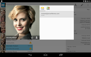 Screenshot of Contacts Ultra