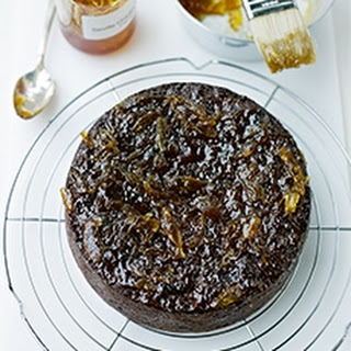 Sticky Prune and Date Cake