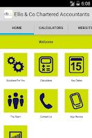 Screenshot of Ellis&Co Chartered Accountants