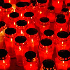 sviječe by Zeljko Sajko-Saja - Artistic Objects Still Life ( svjetlo, groblje, stvari, noć, candle )