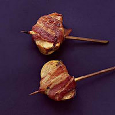 Bacon-Wrapped Persimmon Wedges