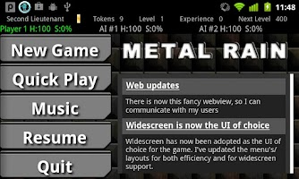Screenshot of Metal Rain (alpha)
