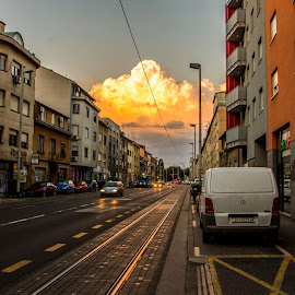 by Drago Gatolin - City,  Street & Park  Neighborhoods
