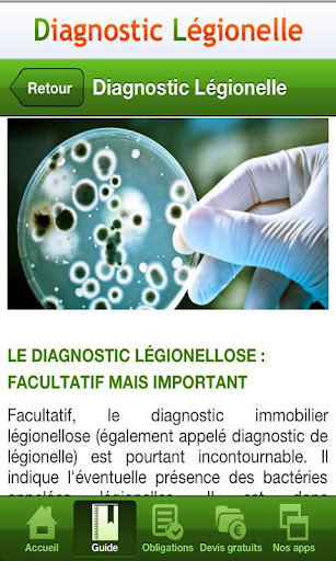 【免費工具App】Diagnostic Légionelle-APP點子