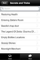 Screenshot of Guide - Zelda Skyward Sword