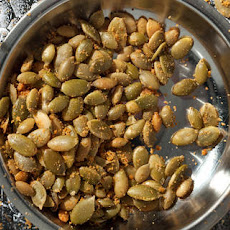 Nacho Cheese Pumpkin Seeds Recipe