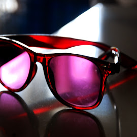 Rosy view by Marcus Mendoza - Artistic Objects Clothing & Accessories ( shades, fashion, accessory, sunglass, eyewear )