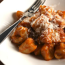 Potato Gnocchi with Tomato-Porcini Sauce Recipe