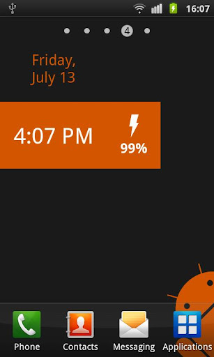 Battery Status Widget Free