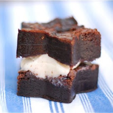 Sea Salt Brownie & Chai Ice Cream Sandwiches