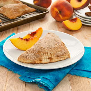 Flaky Peach Turnovers