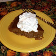 Paula Deen's Apple Butter Pumpkin Pie