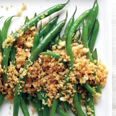 Green Beans with Spiced Breadcrumbs
