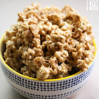 Marshmallow Caramel Popcorn Recipes