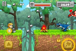 Screenshot of Caveman 2