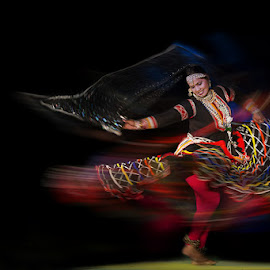 by Pradeep Mahajan - People Musicians & Entertainers ( rajasthan, folk dance, kalbelia dancer, india, dancer )