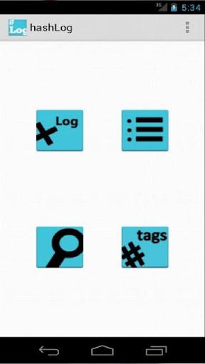 【免費生產應用App】hashLog-APP點子