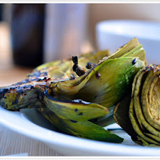 Grilled Artichokes with Garlic Aioli