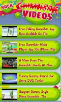 Screenshot of Gummibär Video Player