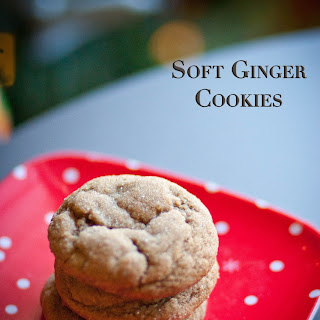 Soft Ginger Cookies