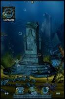 Screenshot of ADW Theme  Ocean Depths