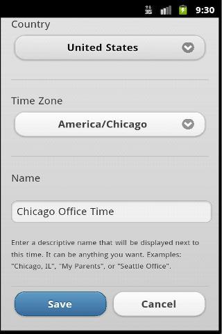 【免費商業App】Time Zones-APP點子