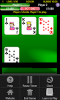 Screenshot of Headsup Holdem Poker