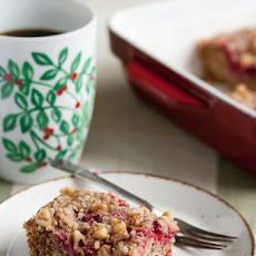 Cranberry-Walnut Coffeecake