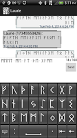 Screenshot of Rune (Text Messaging)