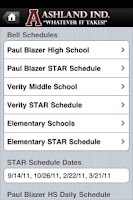 Screenshot of Ashland Independent Schools