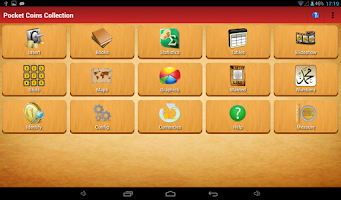 Screenshot of Pocket Coins Collection Lite