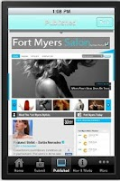 Screenshot of Fort Myers Salon