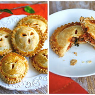 Black-eyed Peas, Spinach, and Creamy Tomato Hand Pies