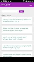 Screenshot of Soal Jawab: Kemusykilan Agama