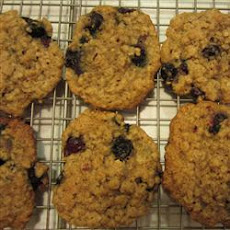 Blueberry Oat Cookies