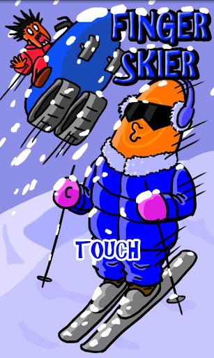 滑雪手指仔