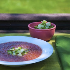 Traditional Andalusian Gazpacho