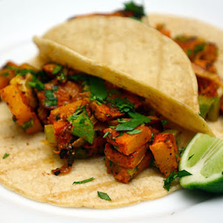 Achiote-Rubbed Butternut Squash Tacos