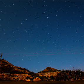 Sky full of stars by Subodh Kesarkar - Landscapes Mountains & Hills ( sky, mountain, blue, sunrise, landscape, photography )